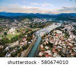 aerial view of the central part ...   Shutterstock . vector #580674010