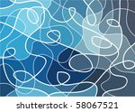 abstract geometric mosaic... | Shutterstock .eps vector #58067521