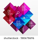 modern square composition ... | Shutterstock .eps vector #580678696