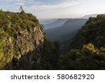 south africa god's window view... | Shutterstock . vector #580682920