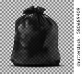 garbage bag | Shutterstock .eps vector #580689409