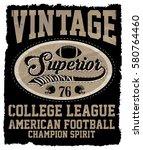 athletic dept. new york ... | Shutterstock .eps vector #580764460