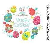 Easter Holiday Banner Design...