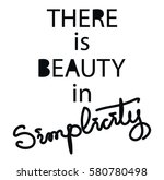 there is beauty in simplicity....   Shutterstock .eps vector #580780498
