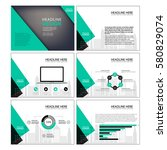 multipurpose template for... | Shutterstock .eps vector #580829074