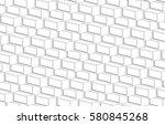 architecture 3d vector | Shutterstock .eps vector #580845268
