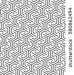 vector seamless pattern. modern ... | Shutterstock .eps vector #580862494