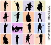 music set | Shutterstock .eps vector #58088137