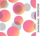 trendy geometric elements... | Shutterstock .eps vector #580892968