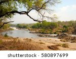 River in Majete National Park, Malawi