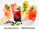summer drinks | Shutterstock . vector #580903666