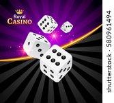 Dice Vector Casino Design...