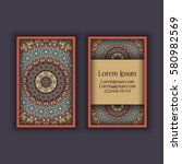vector business card design...   Shutterstock .eps vector #580982569