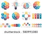 infographic elements data... | Shutterstock .eps vector #580991080