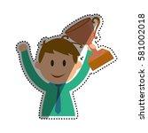 businessman entrepreneur...   Shutterstock .eps vector #581002018