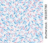 abstract knitting fabric...   Shutterstock .eps vector #581005780