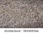 polished agatized dinosaur bone ... | Shutterstock . vector #581009266