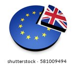 brexit britain separation from... | Shutterstock . vector #581009494