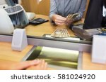 people  withdrawal  saving and... | Shutterstock . vector #581024920