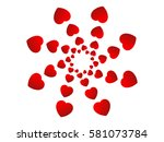 love heart | Shutterstock .eps vector #581073784
