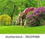 Stock photo garden 58109488