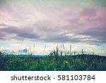 landscape of beautiful nature...   Shutterstock . vector #581103784
