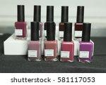 new york  ny usa   february 13  ... | Shutterstock . vector #581117053