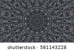 abstract colorful painted... | Shutterstock . vector #581143228