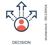 Decision Vector Icon