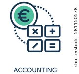 accounting vector icon