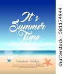 summer vector element  summer...   Shutterstock .eps vector #581174944
