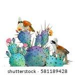 Watercolor Summer Illustrate...