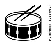 Snare Drum Or Side Drum With...