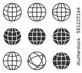 http icon isolated | Shutterstock .eps vector #581225164