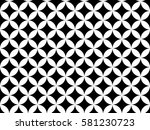 Stock photo seamless geometric black and white pattern for textile print for printed fabric design for 581230723