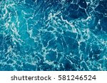 Background Shot Of Aqua Sea...