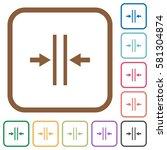 adjust text column gutter... | Shutterstock .eps vector #581304874