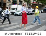 Paris July 8  2015. Top Model...