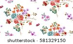 Stock vector seamless floral pattern in vector 581329150