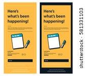 emailer newsletter design...