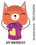 cute cat   Shutterstock .eps vector #581336404