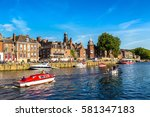 River Ouse In York In North...