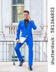 african american businessman... | Shutterstock . vector #581366833