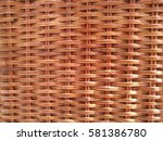 Rattan Woven Background