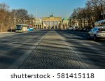 berlin tiergarten with... | Shutterstock . vector #581415118