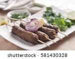 Delicious Seekh Kabab Served I...