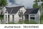 Single Family House With Water...