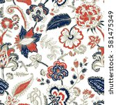 Seamless Pattern With Fantasy...