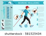 vector illustrated infographics ... | Shutterstock .eps vector #581525434