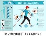 vector illustrated infographics ... | Shutterstock .eps vector #581525434